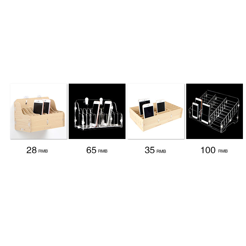 Image 4 - سطح المكتب شاشة المحمول تخزين الهاتف إصلاح إدارة صندوق تخزين للمدرسة مكتب المنصات الخشبية أدوات صناديق-في مجموعات أدوات يدوية من أدوات على AliExpress