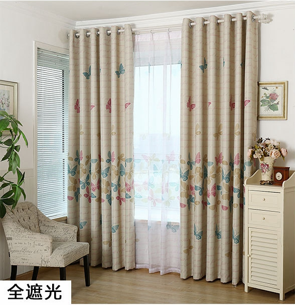 Curtain Cute Living Room Valances For Your Home: Popular Butterfly Blackout Curtains-Buy Cheap Butterfly