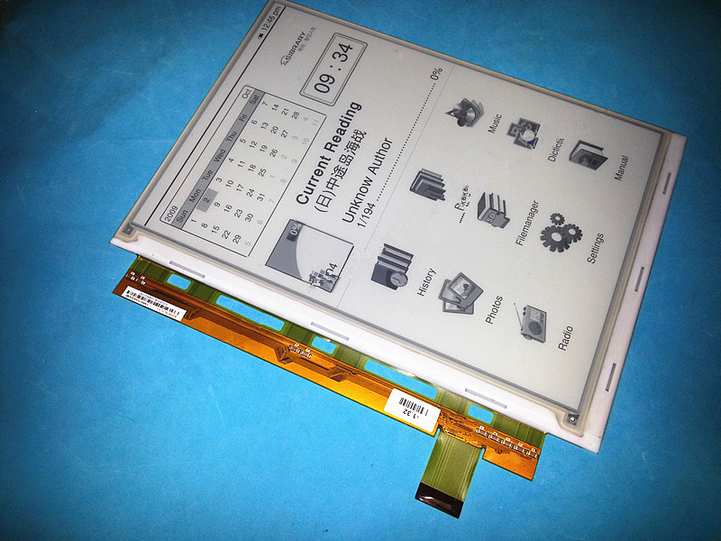 Original New ED097OC1(LF) ED0970C1(LF) E-ink LCD for Amazon Kindle DX Ebook reader.free shipping