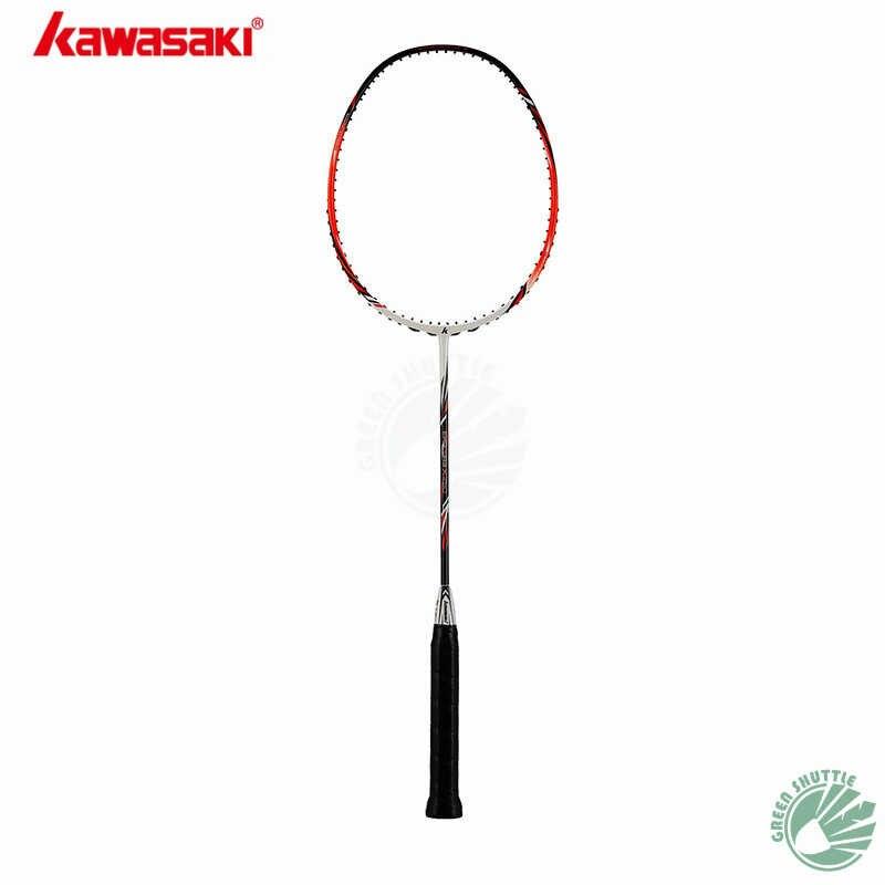 2019 New Full Carbon Kawasaki Badminton Racket 100% Original Kawasaki Raquette Control the ball With Gift
