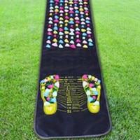 Reflexology Walk Stone Foot Leg Pain Relieve Relief Walk Massager Mat Health Care Acupressure Mat Pad
