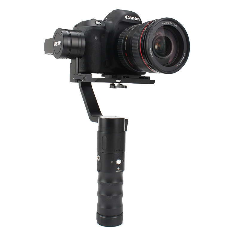 Beholder DS2R Handheld Gimbal Stabilizer 3-Axis Brushless Gimbal 360  Degree Rotation for DSLR Camera Support Weight 1.8kg bestablecam h4 rtf brushless handheld encoder mirrorless digital camera gimbal gyro stabilizer for gh3 gh4 a7s nex5 bmpcc