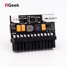 RGEEK 150W 24Pin 12V DC Input Peak 150P Output Realan Mini ITX Pico PSU DC ATX PC Switch DC DC ATX Power Supply For Computer