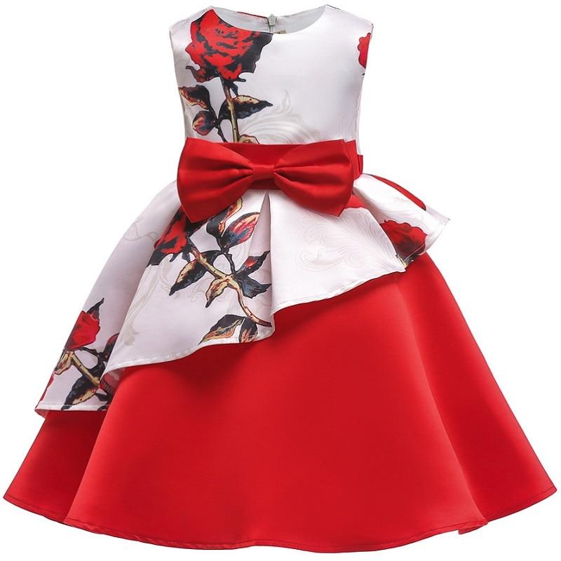2 10 Jahre Kinder Kleidung Kleidung Kinder Mädchen Streifen Kurzen ärmeln  Prinzessin Kleid Für Mädchen Party Geburtstag Festliche Kleid