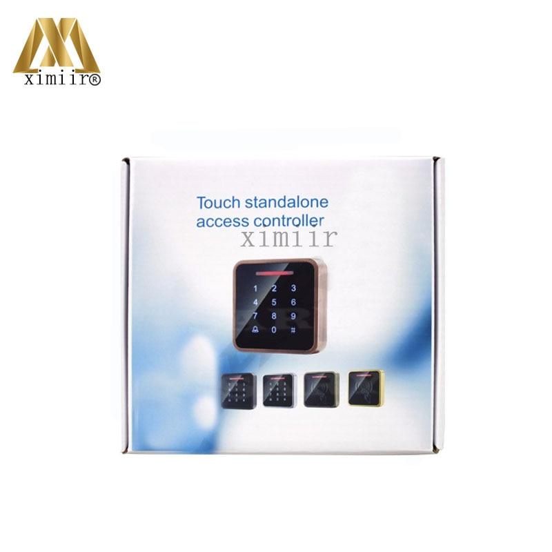 3000 benutzer IC MF Karte Tür Access Controller Standalone Single tür 13,56 MHZ Ic karte Access Control Reader + 10 stücke RFID karte - 5