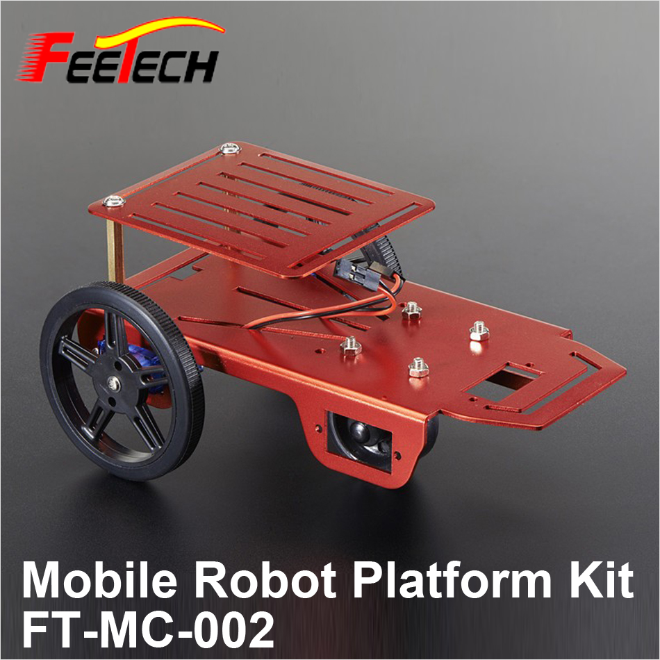 Mobile Robot Platform Kits for Education DIY FT-MC-002 , FEETECH Education Robot Kit mpso and mga approaches for mobile robot navigation
