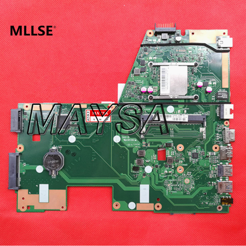 System Board fit for ASUS X551MA motherboard REV2.0 DDR3 HD Graphic DDR3 USB3.0 low voltage perfect working and free shipping free shipping origina laptop board for asus x50z motherboard f5z system motherboard fully tested working