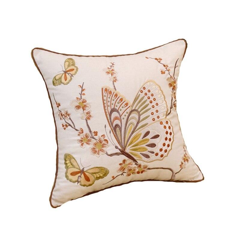 RUBI coussins brodés jeter coussins décoratifs (sans intérieur) décor maison canapé cojines decorativos coussin almofadas cuscini
