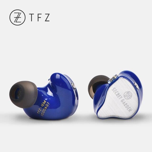 TFZ SECRET GARDEN HiFi HD Dynamic Driver In-ear earphone with 2Pin/ 0.78mm Detachable IEM Rich Bass 3