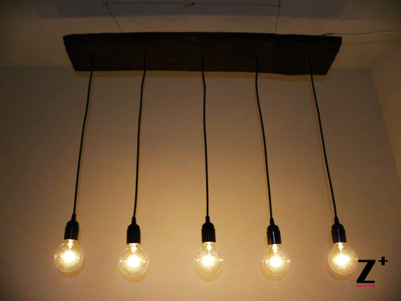 Industrial lights diy hand made vintage 5 edison bulbs chandelier industrial lights diy hand made vintage 5 edison bulbs chandelier lamp suspension coffee bar wood glass mozeypictures Choice Image