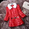 Winter New Fashion Women S Leather Down Coat Leather Coat Sheepskin Leather Clothing Female Slim Free
