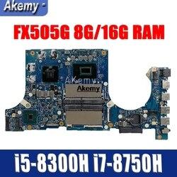 Laptop płyta główna do asusa FX505G FX505GE FX505GD FX505GM mainbaord i5-8300H i7-8750H 8G/16G RAM wymiany!!!