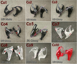 Full carbon fiber Good quality Colnago carbon water bottle cages holders with 3K/UD Matte/Glossy 6 colors for your selection(China)
