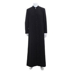 Куртка для косплея Matrix neo, Черная мужская куртка в стиле ренессанс, в средневековом стиле