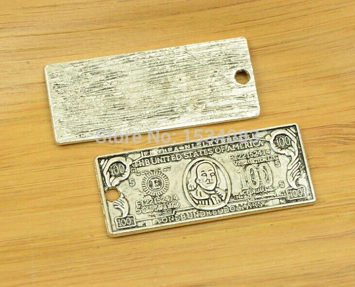Free shipping 3pcs/lot 43x19mm Antique Silver Zinc Alloy ...