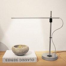 Modern minimalist style magnetic USB aluminum table lamp цена 2017