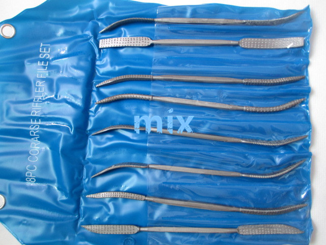 Fixmee 8pc Raschietto a mano per riffler Lima per raspa Strumento per - Utensili manuali - Fotografia 2