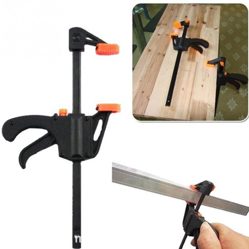 1Pc 4 inch F Woodworking Clamp Wood Craft Clamping Tool For Carpentry DIY