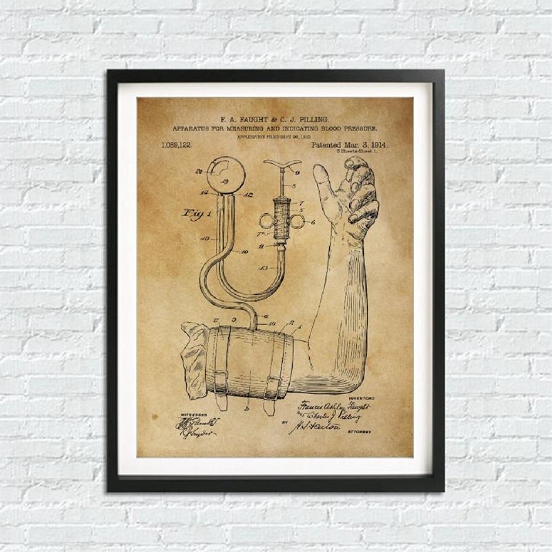 Vintage Medical Art Prints Doctor Gift