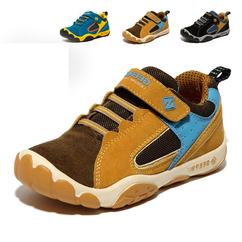 New leather running children shoes girls fashion sneakers brand breathable kids boys chaussure enfant autumn sport shoe