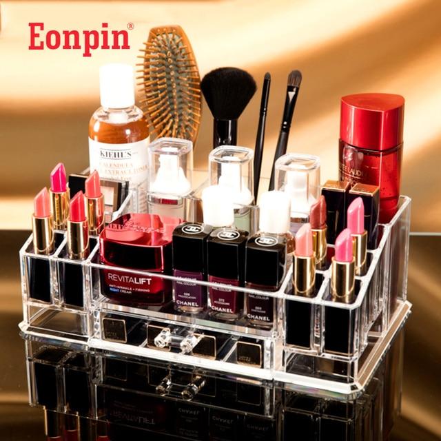Maquillage Eonpin Capacité Grande Acrylique Bricolage Organisateur DEH29I