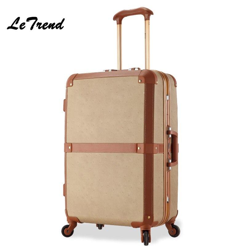 Vintage Rolling Luggage Promotion-Shop for Promotional Vintage ...