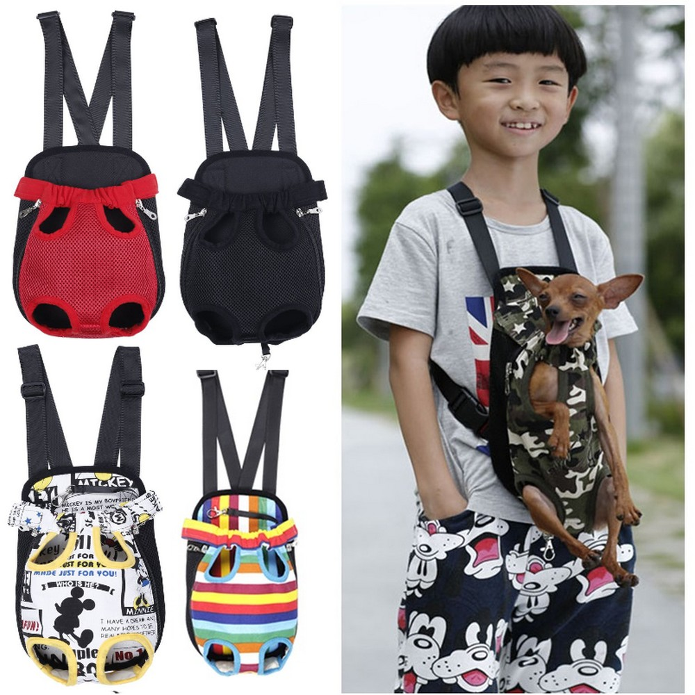 Tote-Bag Carrier Sling-Holder Puppy Dog-Front-Chest-Backpack Outdoor Cat Mesh