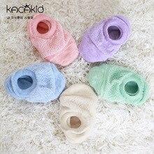 Candy Color Newborn Toddler Infant Baby Summer Sandle Hollow Anti-slip Spft Sole Cotton Casual Socks Meia Infantil Pantufa
