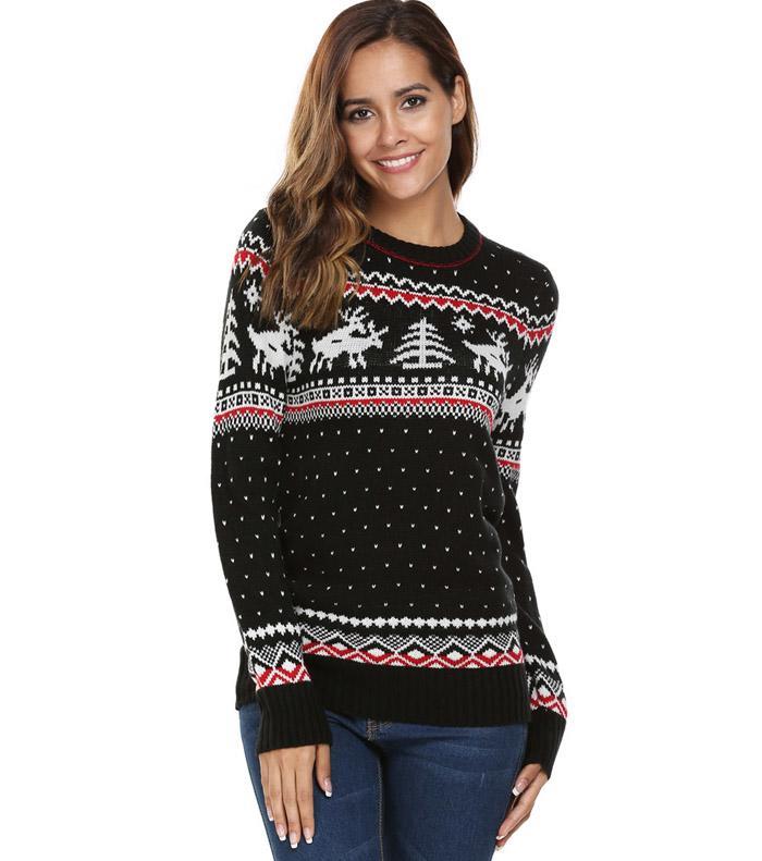 HTB1jhZvSFXXXXa6XXXXq6xXFXXXC - Women Christmas Jesus Print Sweaters Casual Long Sleeve Autumn O Neck Deer Print Slim Pullover Sweater Winter Tops PTC 289