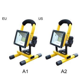 1000LM 30 W المحمولة LED كشاف ضوء 18650 SMD الإضاءة ليلا مصباح طوارئ USB قابلة للشحن ل في الهواء الطلق التخييم الاتحاد الأوروبي/الولايات المتحدة التوصيل