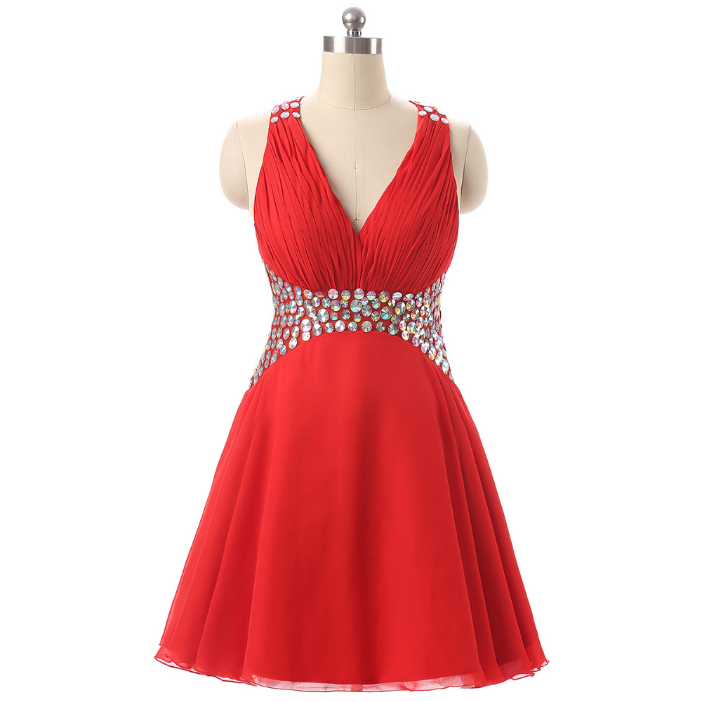 Sexy Cocktail Dresses 2018 Tulle Coral Formal Dress Party One ...
