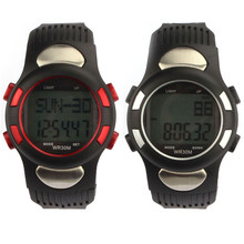 Fitness 3D Pedometer Calories Counter Watch Pulse Heart Rate Monitor Fashion Design Watches Wome Simple and comfortable M21