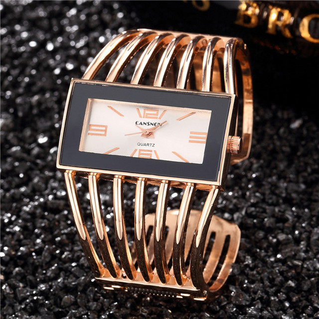 2018 New Relogio Feminino Top Brand Luxury Rose Gold Wrist Watch Women Watches Fashion Bracelet Watch Women reloj mujer relogio
