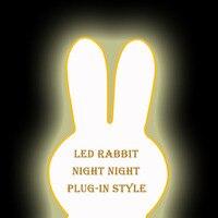 Высота 80 см, кролик Dimmable ночь свет лампы для маленьких детей подарок животных мультфильм Спальня Гостиная Декоративные