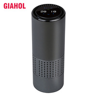 HEPA Filter Car Air Purifiers with Gesture Control Mini Anion Air Purifier Best for Car Desktop Office Home Remove Smoke Dust