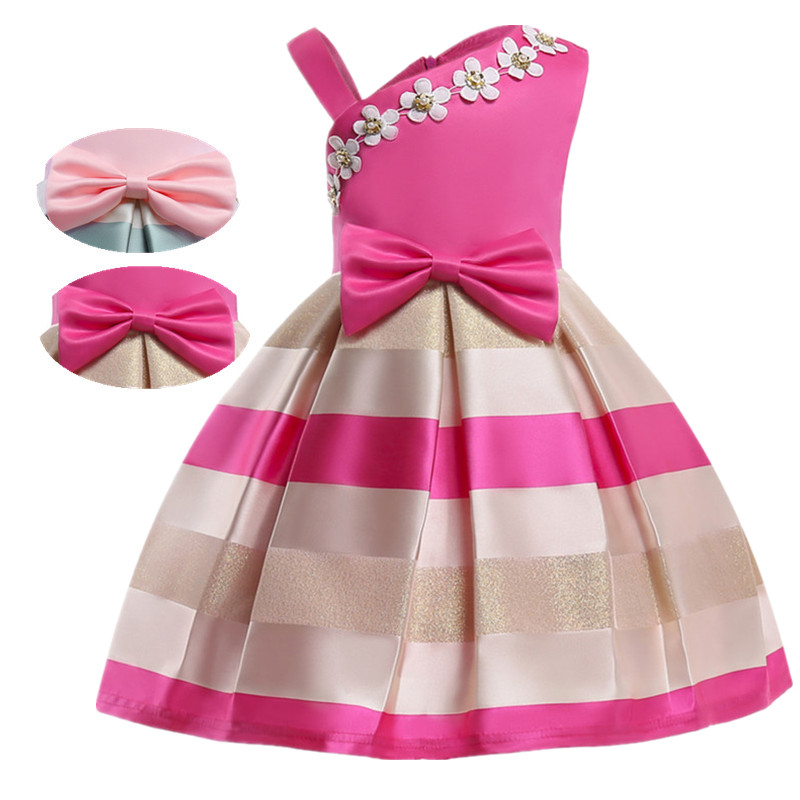 Children Lace Flower Princess Girl Dress for Wedding Birthday Party Girl Kids Evening Prom Dresses for Girls girls dress new summer flower kids party dresses for wedding children s princess girl evening prom toddler beading clothes 3 12