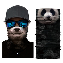 3D Cute Cat Dog Balaclava Full Face Mask Warm Helmet Liner Ski Running Cycling Snowboard Bike Bicycle Riding 2019
