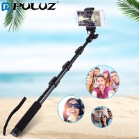 For Go Pro Accessories Extendable Adjustable Pole Handheld Selfie Stick Monopod For GoPro HERO5 HERO4 Session