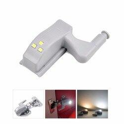 LED Cabinet Hinge Led Sensor Light luz armario Wardrobe Lamp Night Light Cupboard Door Bulb Kitchen Lighting 0.3W lampada led
