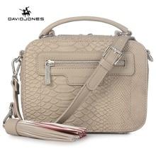 DAVIDJONES women crossbody bags designer bags PU serpentine envelope vintage crossbody shoulder purse evening bags Top-handle
