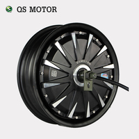 QS Motor 12inch 260 5000W Electric Motorcycle Kit E Motorcycle Kit Electric Motorcycle Conversion Kit