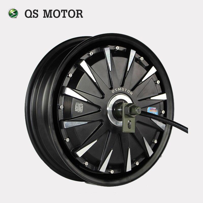 QS Moteur 12 pouces 260 5000 W Électrique Moto Kit/E Kit Moto/Électrique Moto Conversion Kit