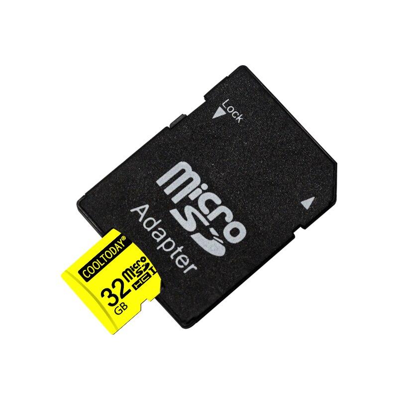 yellow microsd High speed memory card 8GB 16GB 32GB 64GB micro sd card TF card with free adapter