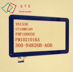 1PCS YCF0464-A GT10MR100 XN1530 WJ608-V1.0 701-10059-02 FM102101KA PB101A2595 300-N4826B-A00 FHF100030 touch screen with glue