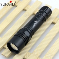 YUPARD led Torch Zoomable LED power bright camping fishing Flashlight Torch light 3xAAA or 1x18650 Bright XML T6 LED