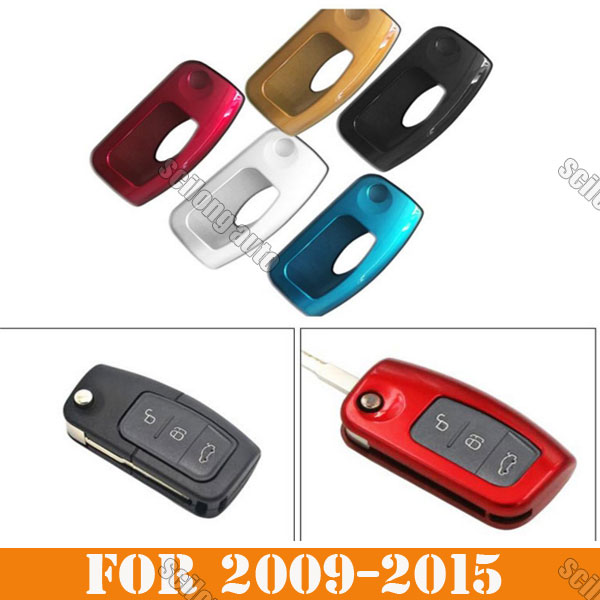 Abs Smart Remote Key Case Ring Shell Holder Cover For: Key Control Remote 5 Color Abs Car Interior Accessories