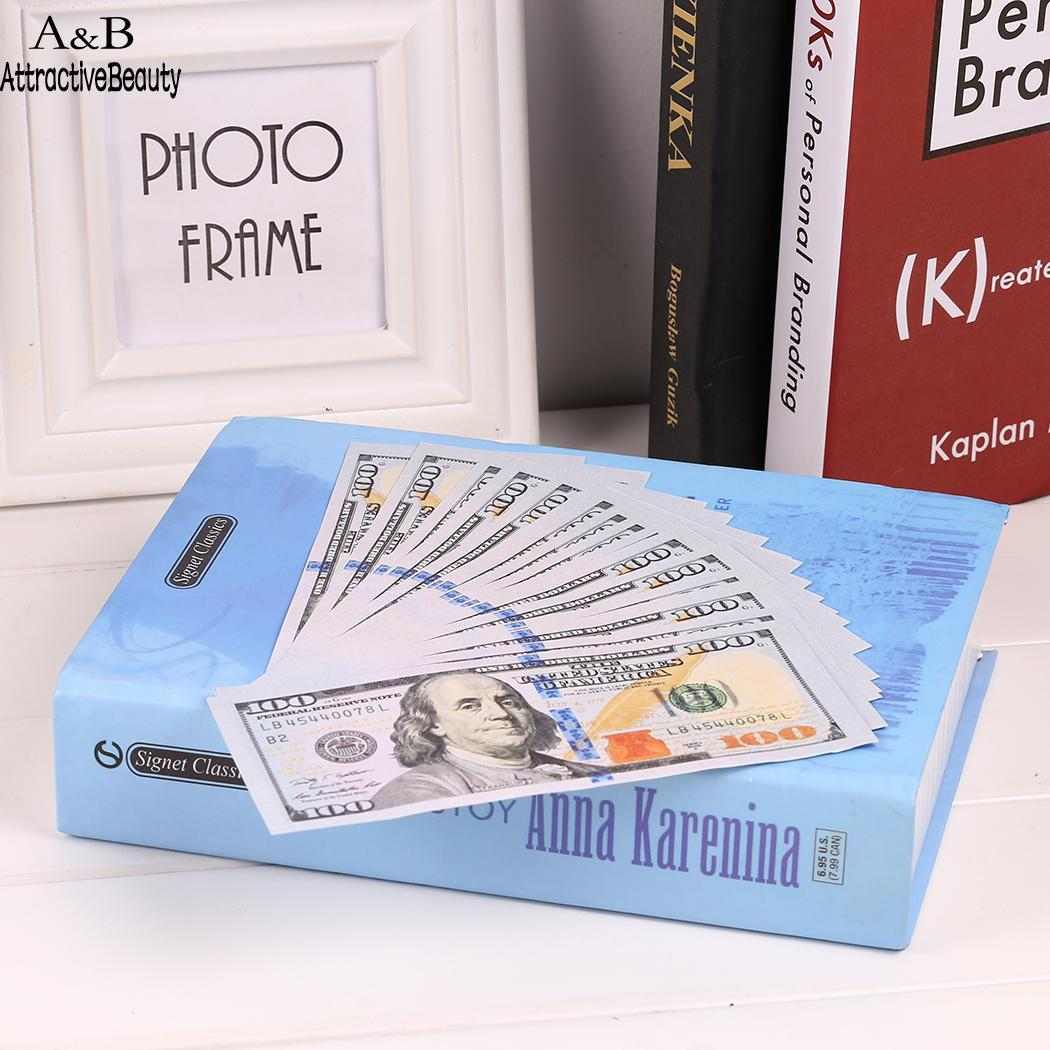 Party Dollar Cash Bills Training Counting 100 Props Paper