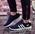 Zapatillas deportivas случайные мужские полосой спорта и открытый обувь прохладный мужской улица стильный обувь sapatos платформа досуг обувь