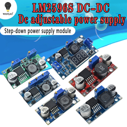 Высококачественный модуль питания LM2596s, Регулируемый понижающий модуль 3 А с регулятором напряжения 24 в 12 В 5 в 3 в