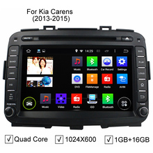 RK3188 ROM 16GB 1024*600 Quad Core Android 4.4.4 Fit Kia Carens 2013 2014 2015 8″ Car DVD Player GPS 3G Carens Stereo Radio